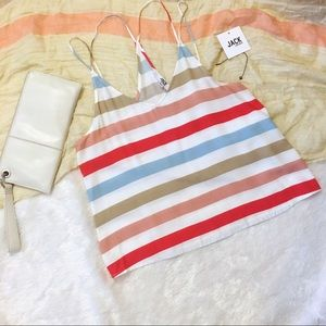 Jack by B.B. Dakota NWT Striped Tank Xs